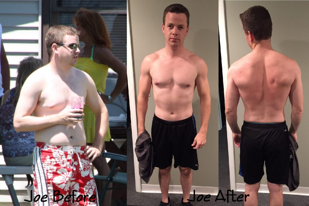 Online Workout Coach Before and After of Joe - Higher Health Coaching